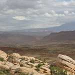 Valley in Arches National Park