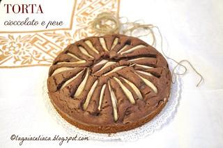 torta cioccolato e pere | by mammadaia