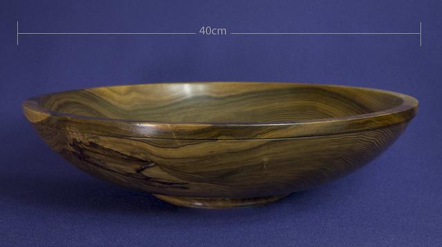 Turned Walnut bowl