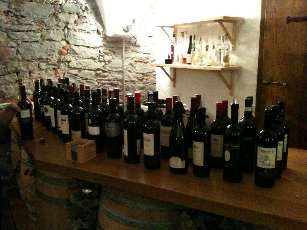 Weindegustation in Wädenswil