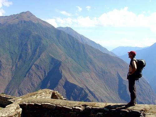 hiking to Choquequirao, Peru   by Rick McCharles