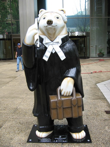 Barrister Bear | by Shiny Things