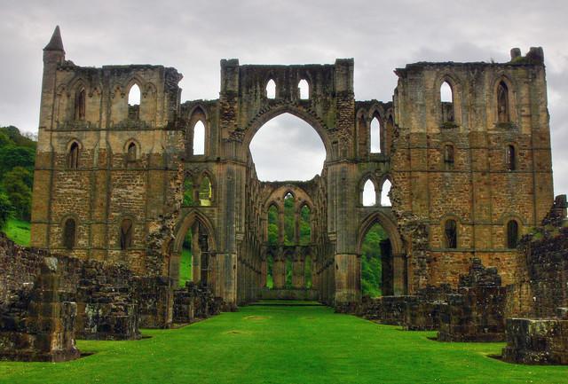 Rievaulx Abbey - View of the Presbytery