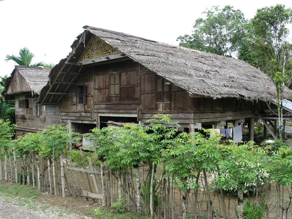 Rumah Adat Aceh In Jaya Interesting Features Include