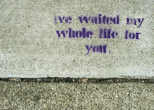 waiting | by celine nadeau