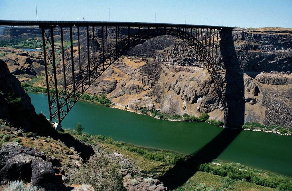 Perrine Bridge Twin Falls Idaho Bridgepixing The Perrine Flickr