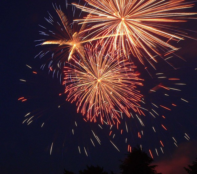 Menwith Hill Fireworks