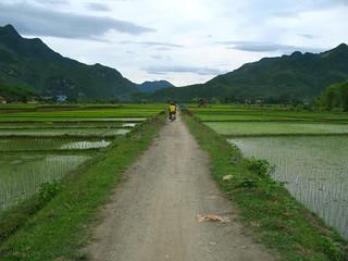 Arriving in Mai Chau | by Dust Mason