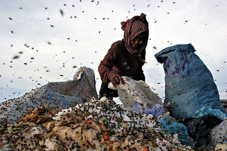 Working woman, the garbage dump in Phnom Penh, Cambodia | by Maciej Dakowicz