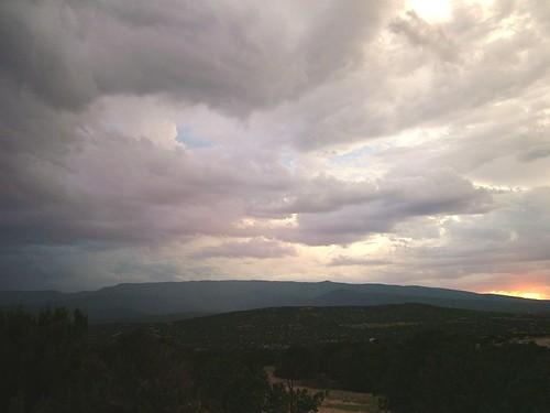 sunset sky storm mountains newmexico evening paula sandia jemez sandiapark paulena sanpedrooverlook