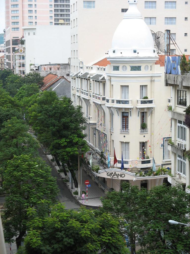 The Grand Hotel Saigon I Love The Art Deco French Colon Flickr