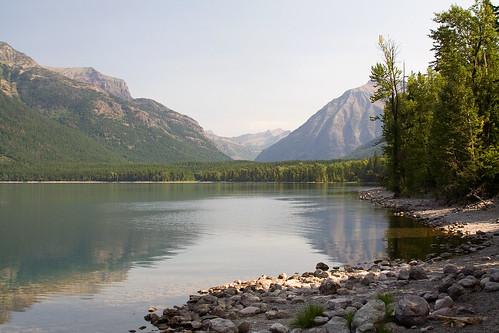 vacation lake mountains water nationalpark montana shoreline glacier shore glaciernationalpark payitforward goingtothesunroad lakemcdonaldlodge lakemcdonald