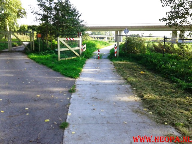2015-10-09 Test wandeling 26 Km Oostvaarders  (32)