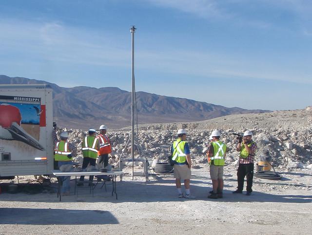 Planetary deep drill rig full
