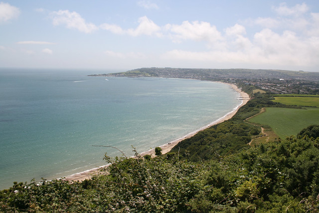 View of Swanage from Ballard Down