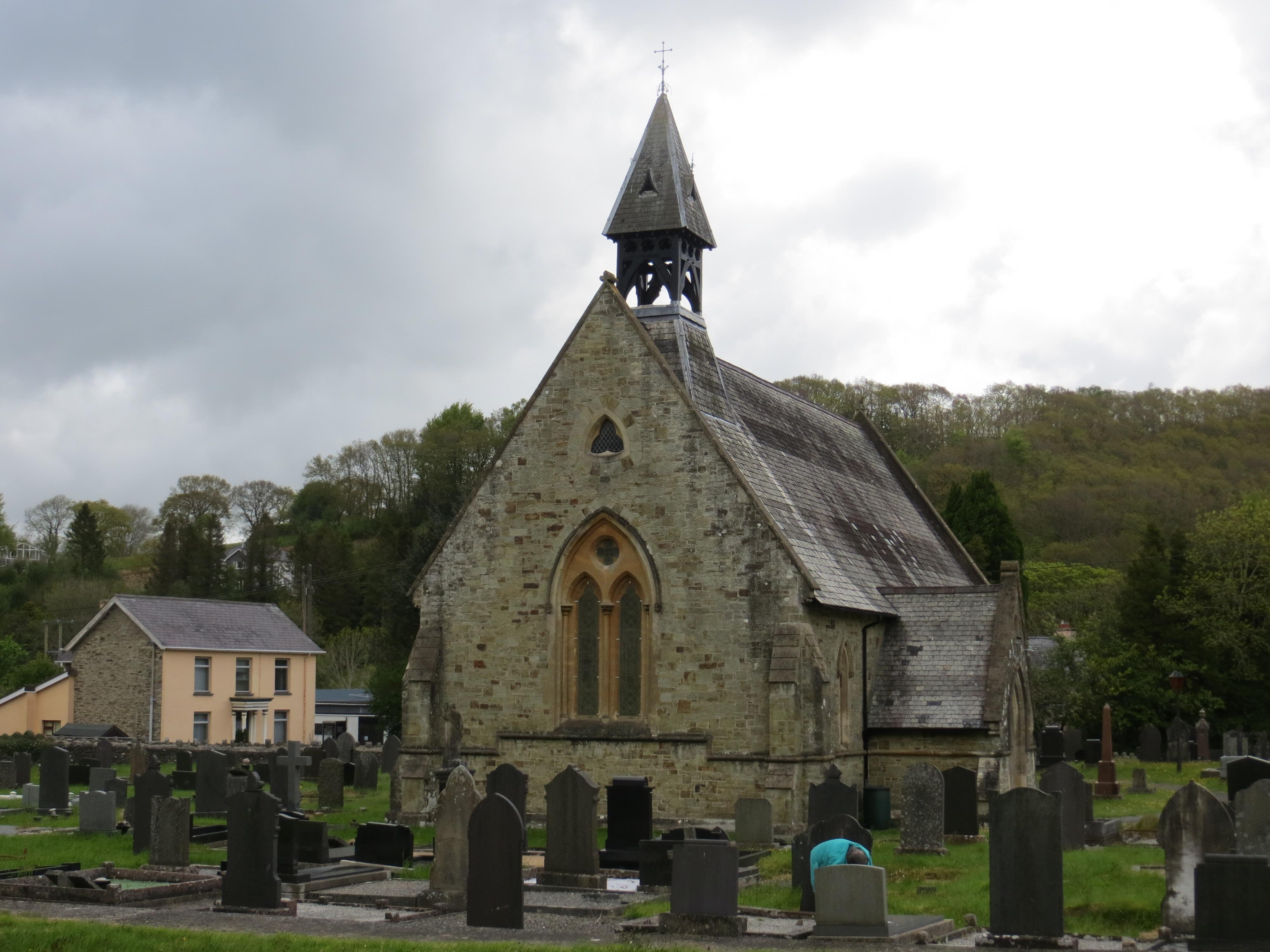 Wales, DREFACH FELINDRE, St Barnabas (c Peter Wood)
