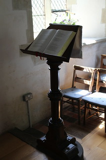 Lectern at St Michael's church, Discoed | by pluralzed