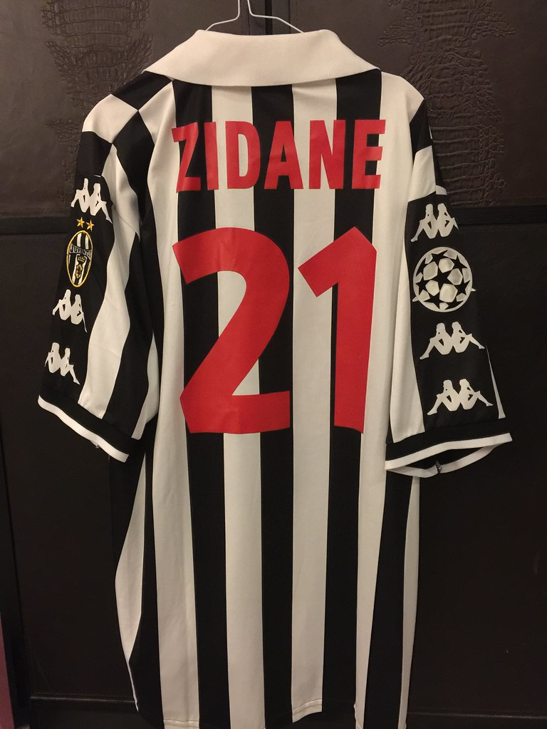 Juventus Zidane Matchworn Issued Ucl Shirt 1998 99 A Photo On Flickriver