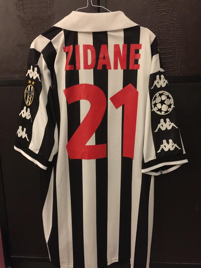 pretty nice 80f28 dcd5e Juventus Zidane Matchworn Issued UCL Shirt 1998/99 | Flickr