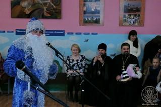 Рождественский концерт в школе 290