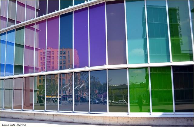 Colores, reflejos - El MUSAC en la ciudad de León