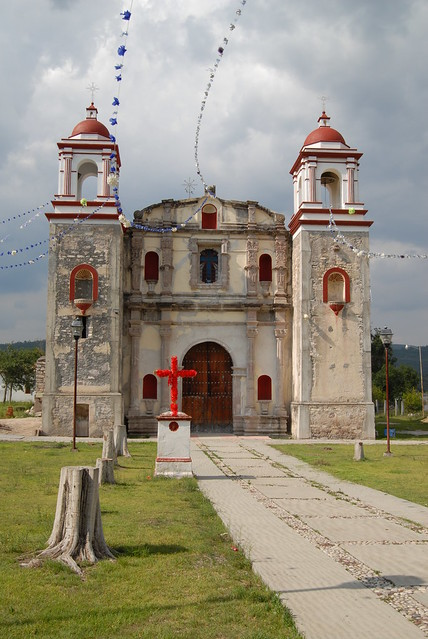 Church of San Miguel Tixa Oaxaca Mexico
