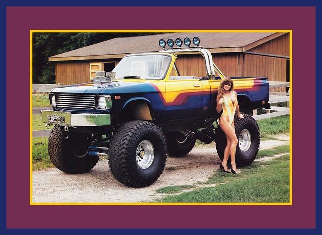 '79 Chevrolet Luv Show Truck, 1990