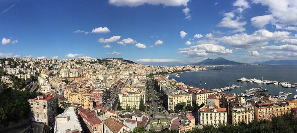 Napoli Terrazza Posillipo Maria Di Stasio Flickr
