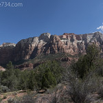 West Wall in Zion National Park