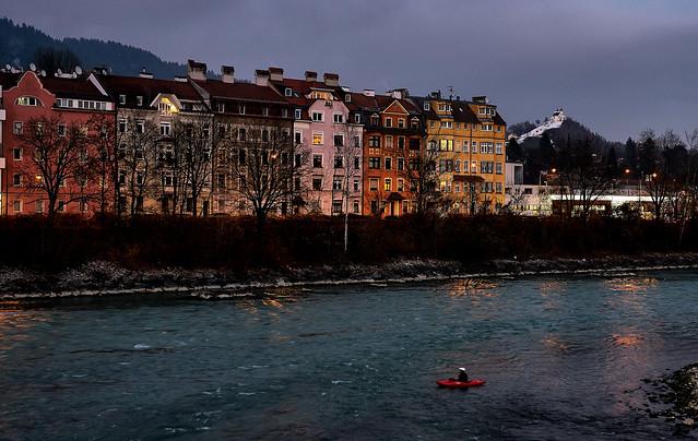 Dezemberabend in Innsbruck