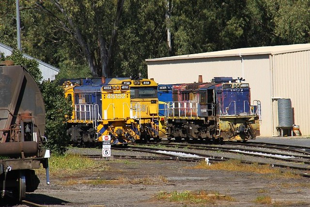 Parkes and its 48's by David Arnold