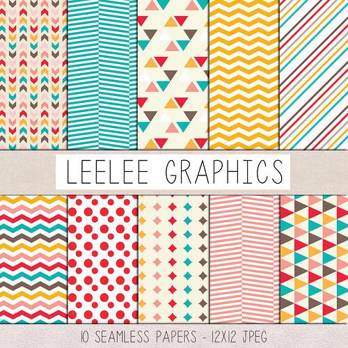 LeeLee Graphics - Multi-Geometrics Texture Pack