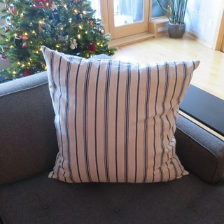 Iron Craft '16 Challenge 25 - Ottomna Slipcover and Throw Pillow.