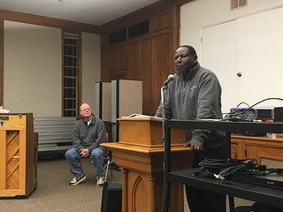 Learning from Pastor Morris about Bible College in Uganda | by Wesley Fryer