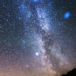 The Milky Way - The Langdale Valley, Cumbria