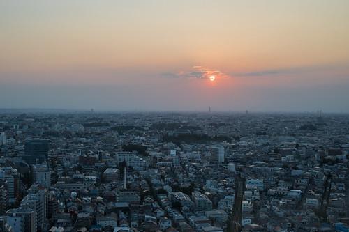 sunset japan 50mm tokyo town nikon dusk f14 d750 nikkor townscape setagaya sangenjaya 世田谷 carrottower キャロットタワー chicaco11
