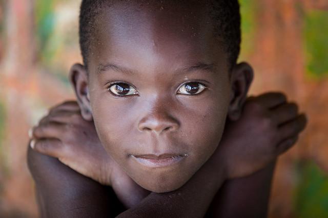 Benin: enfant des villages.