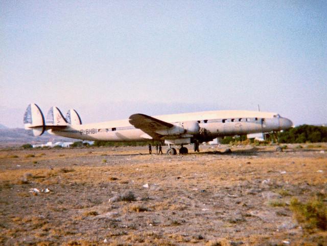 F-BHBI Lockheed L-1049G Super Constellation cn 4634 Arrecife 20Jul81