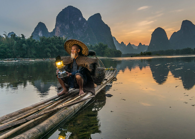 Corrmorant Fisherman, China