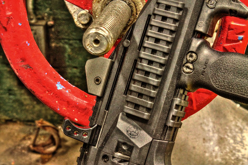 HBI Theta Extended Charging Handle | by Buffman Range