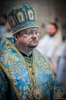 Литургия в Софийском соборе 615