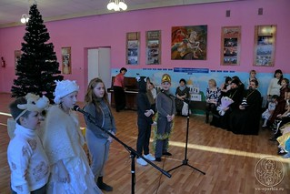 Рождественский концерт в школе 260