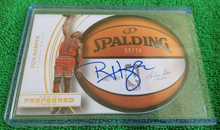 2014-15 Panini Preferred Roundball Autograph Gold #87  6/10 | by HarperCollector9