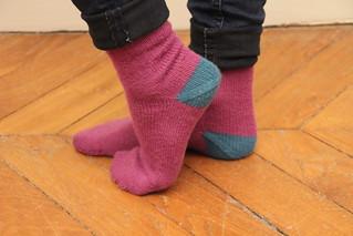 {Tricot} J'apprends à tricoter des chaussettes # | by KnitSpirit