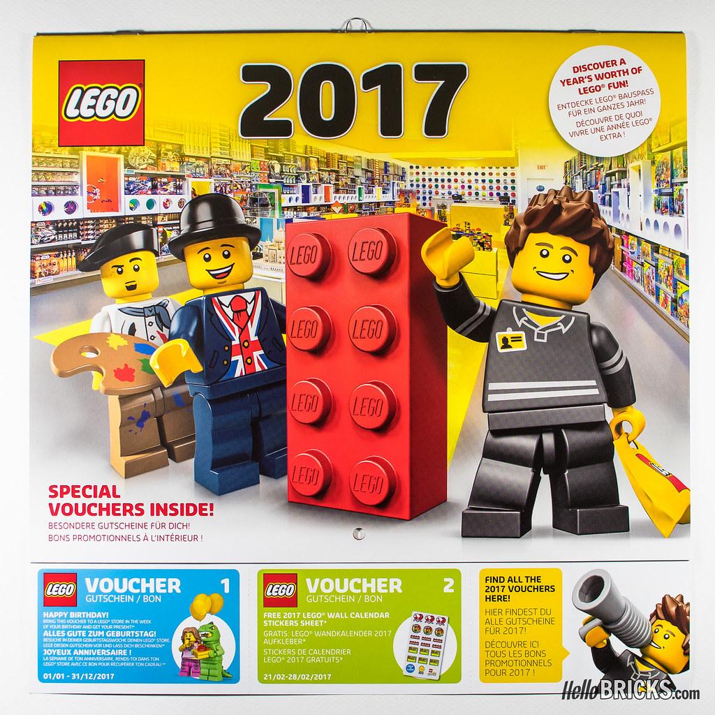 Lego 2017 Official Calendar Vouchers More On Wwwhellobr Flickr