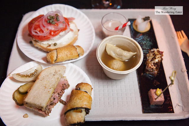 Jewish deli inspired menu by Chef Ryan Bartlow of Quality Meats