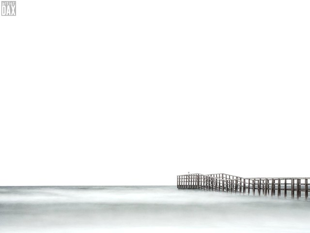 Winter beach II    [ long exposure - first try - rough edit ]