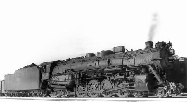 CB&Q 4-8-4 Class O-5-A 5615