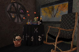 Serenity Style- Inside Witch Cabin   by Hidden Gems in Second Life (Interior Designer)