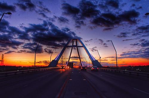 road bridge sunset sky beautiful minnesota clouds minneapolis minneapolisminnesota lowrybridge yaboyreggie